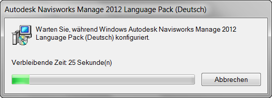 Navisworks Language Pack Installer