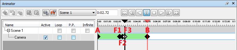 Navisworks Animator dialog - adding intermediate keyframes