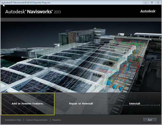 Navisworks Exporters Add Change Installation