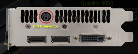 Graphics Card DIN Connector