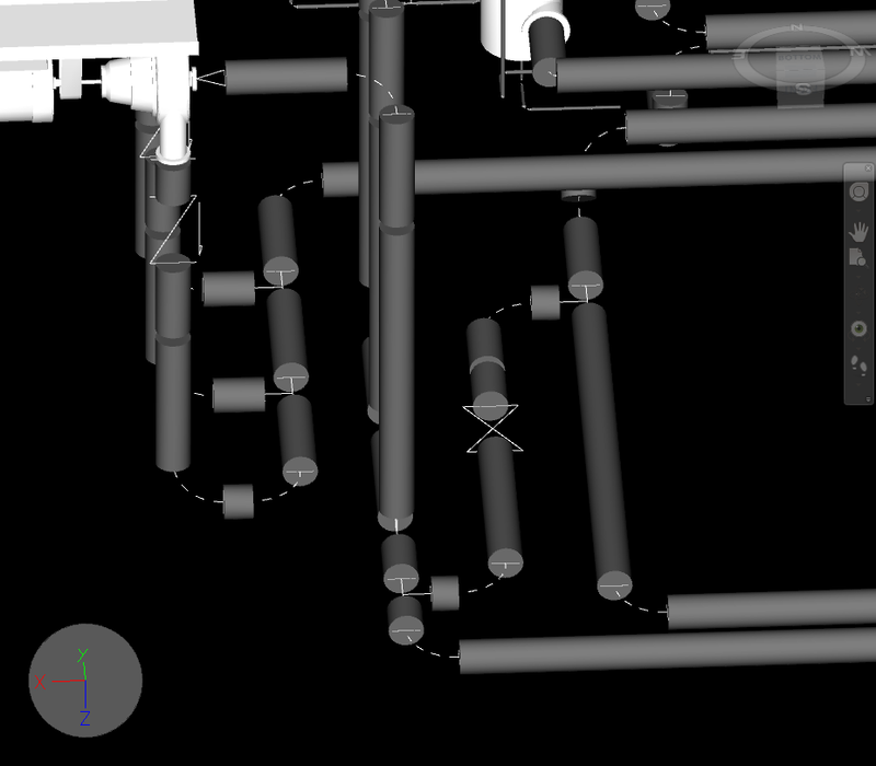missing revit pipes fittings navisworks