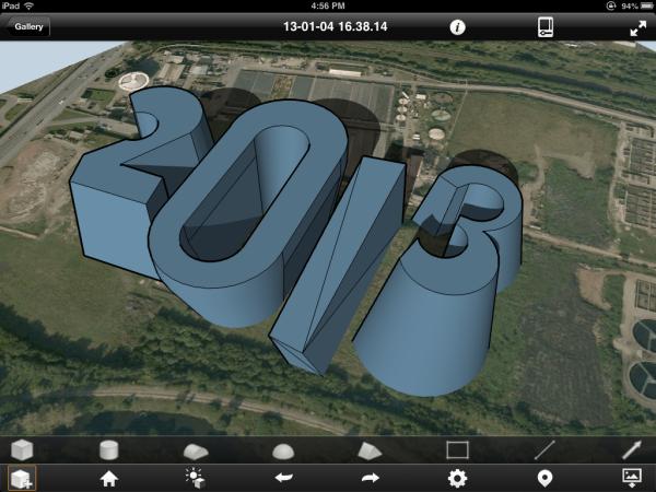 2013 Autodesk Formit ipad app conceptual modelling