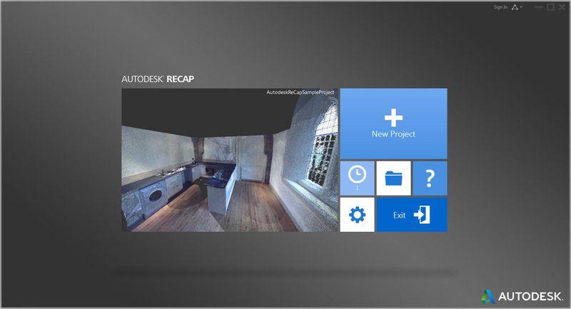 Autodesk Recap point clouds navisworks