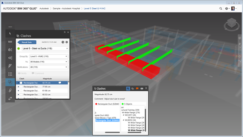 Coordination in BIM 360 Glue
